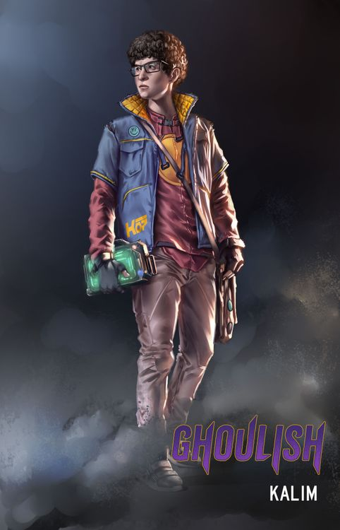 Kalim Character Design From Ghoulish